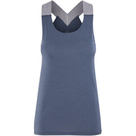 Haglöfs Ridge Sleeveless Shirt Women blue